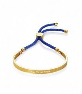 Pulsera de tipo esclava Viceroy en Acero Dorado Cordon Azul - 90054P01013