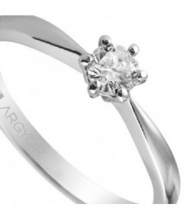 Anillo de compromiso con 1 diamante 0.30ct - 74B0018