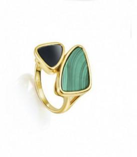 Anillo Plata Viceroy Fashion Señora, Verde y Azul - 3014A014-42