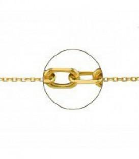Cadena de oro macizo 18k diseño forzada - 033155040/45