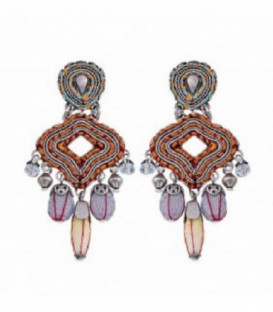 Pendientes Ayala Bar Coral Cave Sweet Dreams - H1471