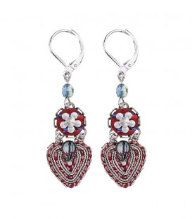 Pendientes Ayala Bar Red Rock Romance in the Air - H1455